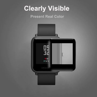 Ultra-Thin, Protective Full Cover, Flexible Screen Protector Film For Xiaomi Amazfit Bip Smart Watch Accessories