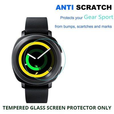 Samsung Gear Sport Tempered Glass Screen Protector