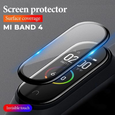Screen Protector - 3D Protective Film For Xiaomi Mi Band 4 Mi Band4 MiBand 4 Smart Wristband Bracelet Full Screen Hydrogel Films Not Tempered Glass