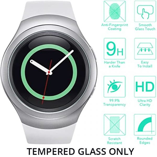 Samsung Gear S2/Gear S2 Classic/S2 3G Tempered Glass Screen Protector