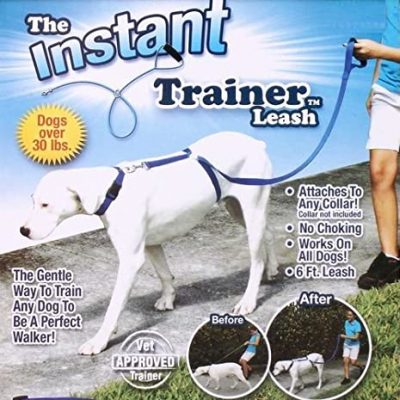 The Instant Trainer Leash Dogs Walking Training Harness Leash Leader For Large Dog