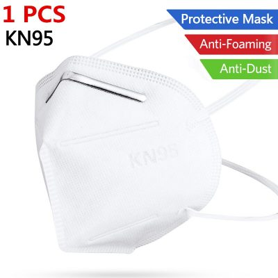 Reusable Kn95 4 Layers Anti Dust Earloop Mouth Face Mask Anti Fog Outdoor Protection Melt-blown GB2626 Face Shield