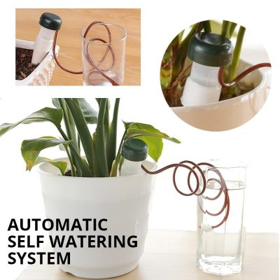 Garden Automatic Watering Tool Indoor Auto Drip Irrigation System Plant Waterers spike for Novelty Households II