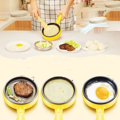 Generic 3 in 1 Multi-function Electric Egg Cooker up to 7 Eggs Boiler Steamer Fry Double layer Cooking Tools Kitchen Utensils