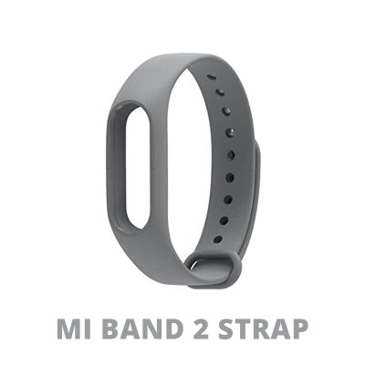 Grey Color Replace Strap For Xiaomi MI Band 2