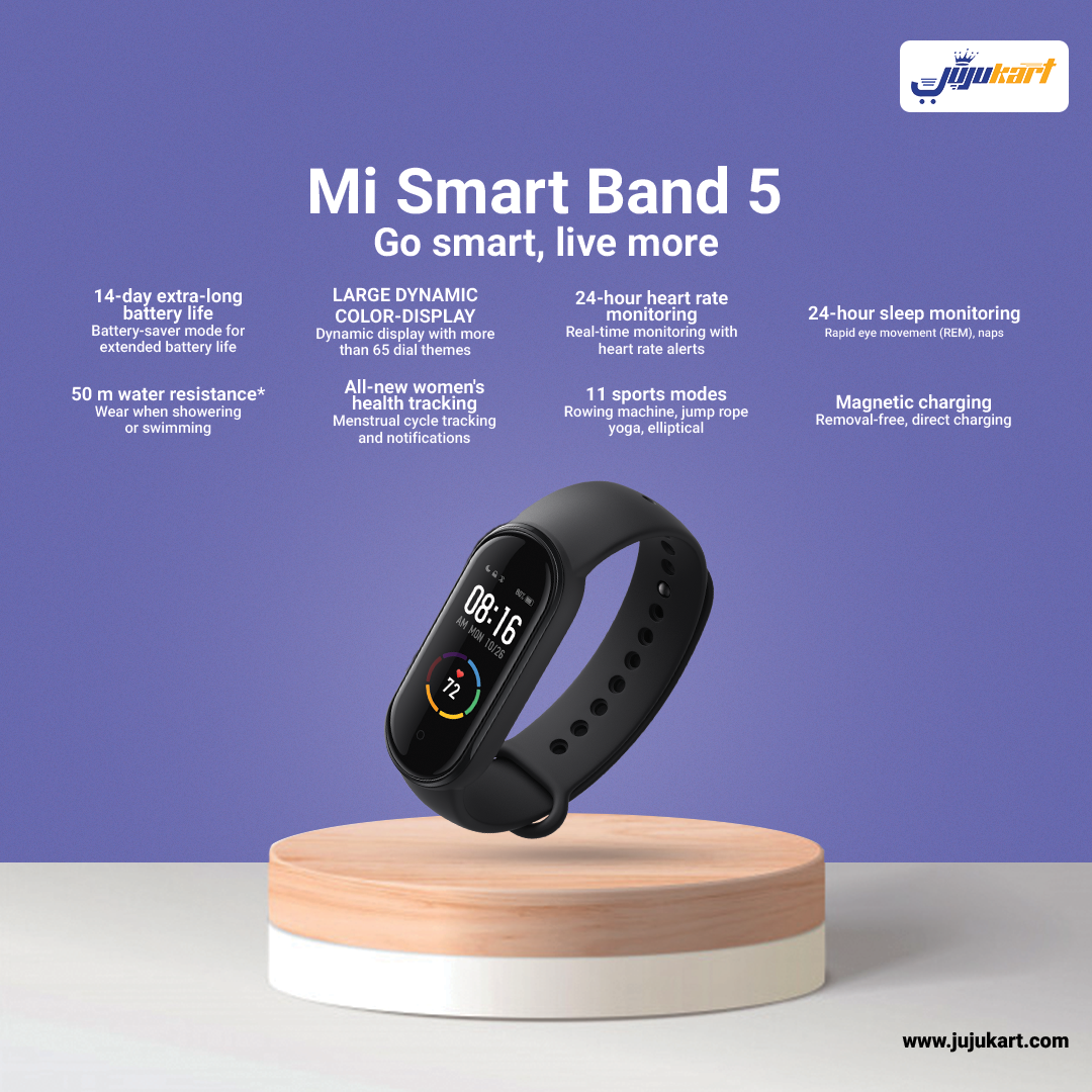 New Xiaomi Mi Band 5