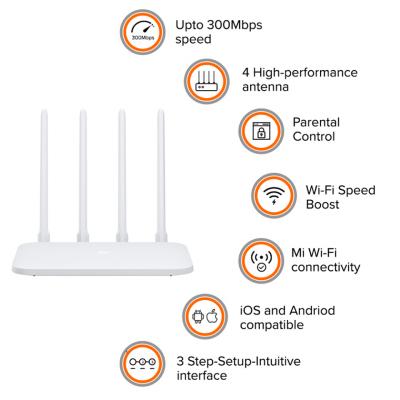 Xiaomi Mi Router 4C (White) - GLOBAL VERSION