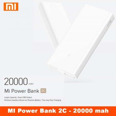 Xiaomi 20000mAh Mi Power Bank 2C