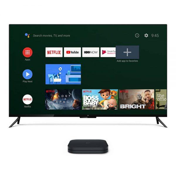 Xiaomi Mi Box S - 4k Ultra Hd Android Set-top Tv Box - Global Version