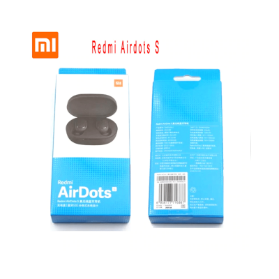 New Original Xiaomi Redmi Airdots S Noise reduction Bluetooth Earphone Stereo bass 5.0 With Mic Handsfree Earbuds AI Control - Redmi AirDots S