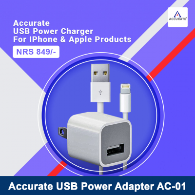 Accurate AC-01 Apple Phones & IPad Charger