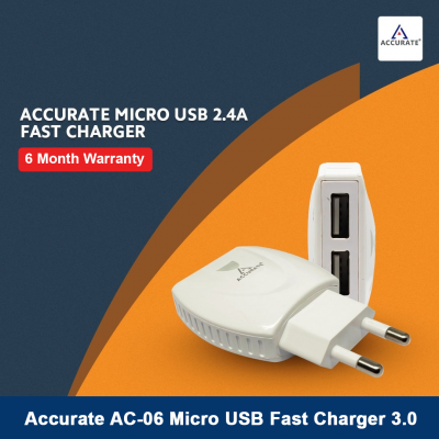 Accurate AC-06 Micro USB Fast Charger 3.0