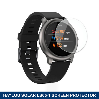 Xiaomi Haylou Solar Ls05-1 Smartwatch - Temperglass Screen Protector