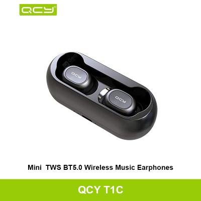 QCY T1C True Wireless Smart Earbud Bluetooth 5.0 Headphone Hi-Fi Headset Earphones