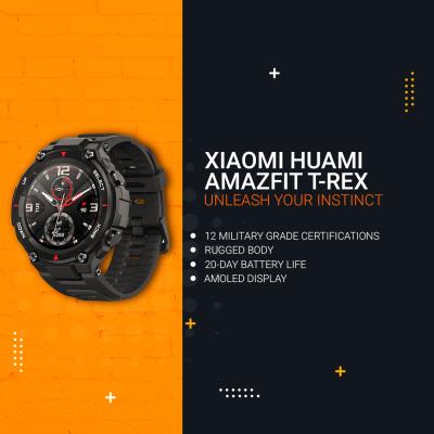 Xiaomi Huami Amazfit T-REX [ UNLEASH YOUR INSTINCT ]