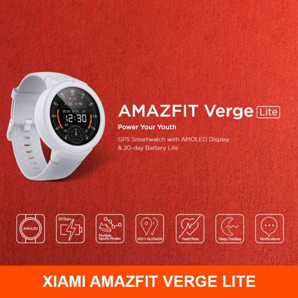 Xiaomi Huami AMAZFIT Verge - Lite [ Power Your Youth ]