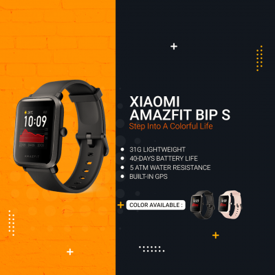 Xiaomi Huami Amazfit Bip S - Step Into A Colorful Life