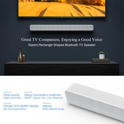 Xiaomi Mi Bluetooth TV Soundbar - Thrilling Cinematic Sound