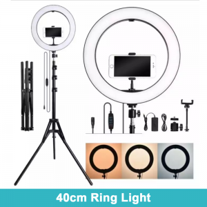 40Cm Led Ring Light For Tik-Tok User And Youtubers With Tripods