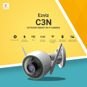 C3N Outdoor Smart Wi-Fi Camera