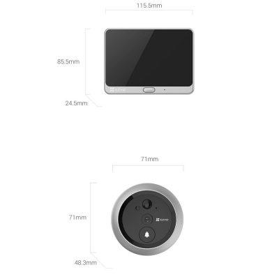 DP1C Wire-Free Smart Door Viewer