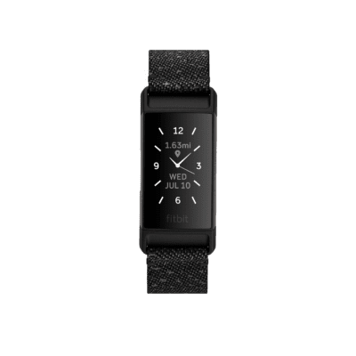 Move Forward With Fitbit Charge 4 Granite Reflective Woven