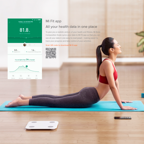 Mi Fit app All your health data in one place