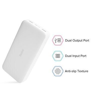 Xiaomi Redmi Powerbank 20,000mAh PB200LZM,18W Fast Charging