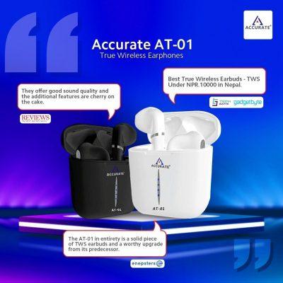 Accurate TWS AT-01 True Wireless Earphone