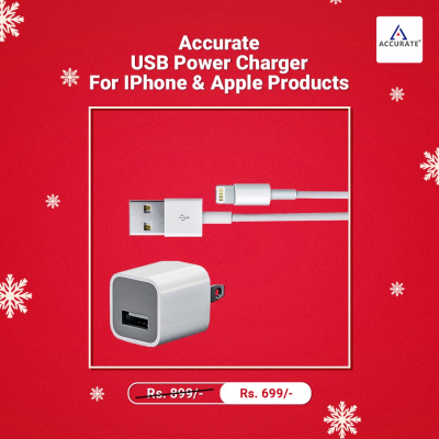 Accurate AC-01 Apple Iphone and Ipad Fast Charger