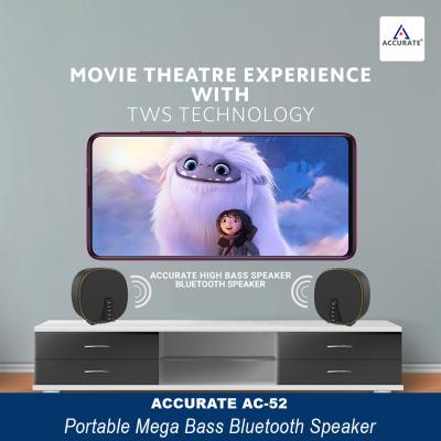 Accurate AC-52 Bluetooth Speaker