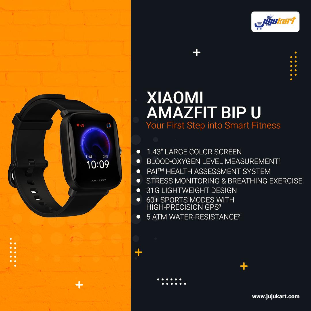 Xiaomi Amazfit Bip U with SpO2