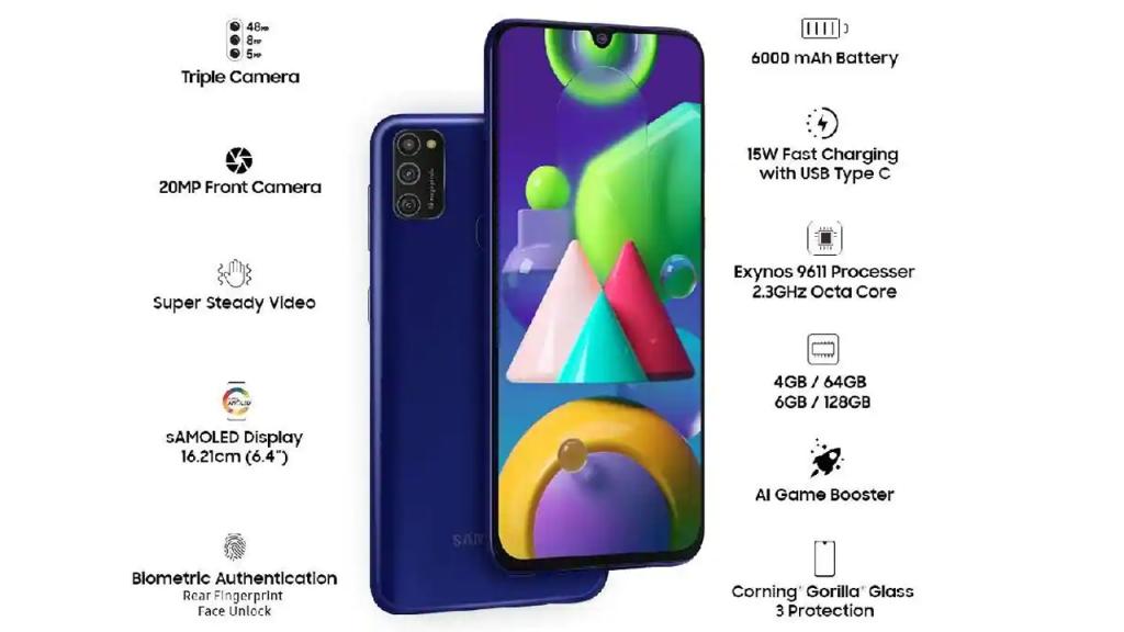 Samsung Galaxy M21 Details