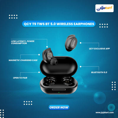QCY – T9 , Bluetooth 5.0 TWS Earbuds