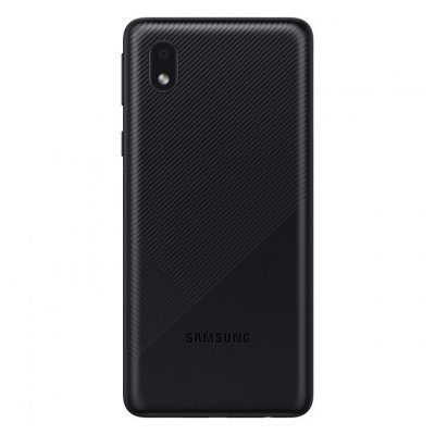 Samsung Galaxy M01 Core in Black Color Back View