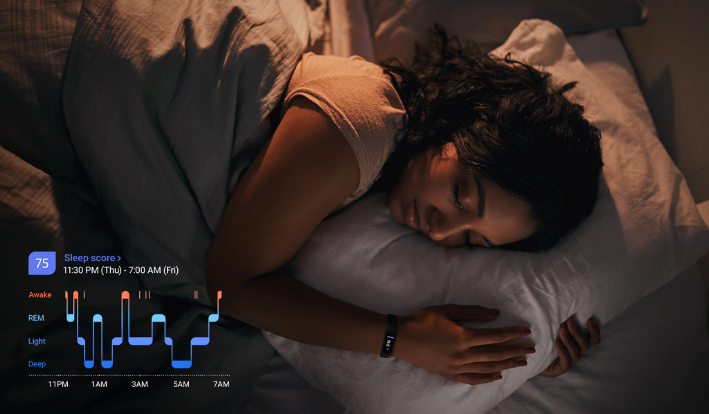 Log your sleep patterns for a better night's rest