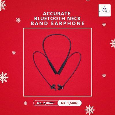 Accurate AL-36 Bluetooth Neck Band Headphone