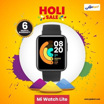 Mi Watch Lite Holi Offer