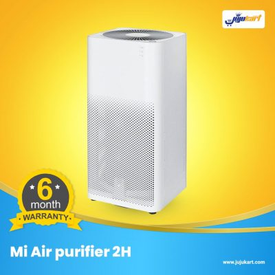 Xiaomi Mi Air Purifier 2H. Main Features: ● OLED Digital Display Clear OLED screen displays the real-time PM 2.5 index, temperature, humidity, WiFi link and working mode, which enables you to monitor the air quality of your home easily ● Ultimate Triple-layered Filter - 360-degrees barrel filter for Xiaomi Air Purifier - Integrated early effect, three layers of activated carbon filter - The 3-layered filter removes 99.99 percent of PM2.5 particles - Filter replacement is very convenient when it needs to change it will remind automatically - The suggestion of filter replacement cycle is three to six months ● Smartphone App Control You can monitor your house air quality easily through the smartphone Mi Home App, and it will provide you with more healthy suggestions to fill your home with clean and pure air ● With light sensor, the display brightness can be adjusted to dim automatically according to the environmental light change ● Working modes: favorite mode, sleeping mode, automatic mode ● Compact design, do excellent purifying job ● Low noise, low power consumption, more energy-saving