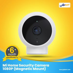 Mi Home Security Camera 1080P (Magnetic Mount) - resolution 1080p / 20fps, WiFi 2.4GHz, 170° horizontal view, night vision - 940nm LEDs, waterproof and dustproof - IP65 - can be used outdoors. Magnetic holder and round body - manual rotation, motion detection