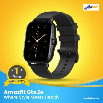 Xiaomi Huami Amazfit Gts 2e, Where Style Meets Health, Thin and Light Bezel-less Design, HD Always-on AMOLED Display, All-round Health and Fitness Tracking, Long Battery Life