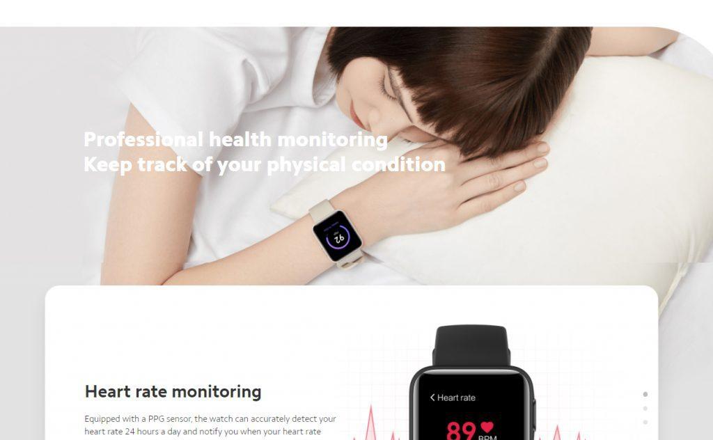 Xiaomi Mi Watch Lite Smart Watch FItness Tracker - 06