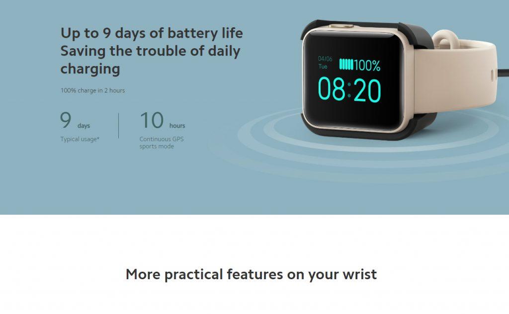 Xiaomi Mi Watch Lite Smart Watch FItness Tracker - 10