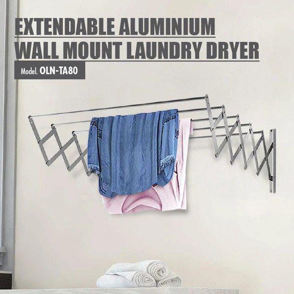 Extendable Aluminium Wall Mount Laundry Dryer