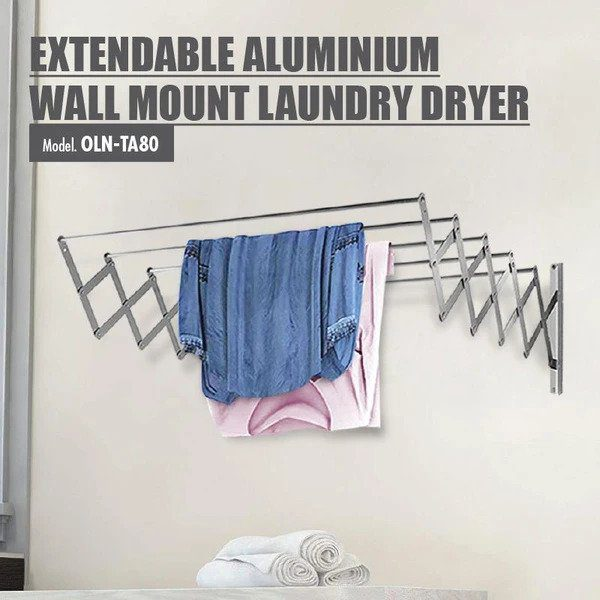 Extendable Aluminium Wall Mount Laundry Dryer