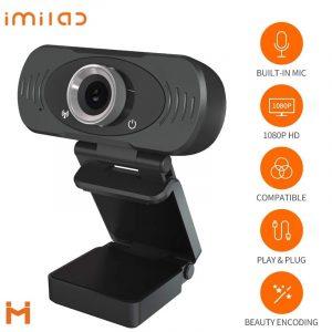 Imilab Webcam 1080p (cmsxj22a) With Free Tripod & 1 Year Warranty