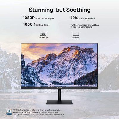 HUAWEI Display 23.8 Inch FHD Monitor, IPS, Ultra-slim Bezels, 90% Screen to Body Ratio, Low Blue Light, Black (1920 x 1080, HDMI/VGA)